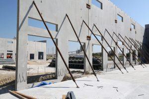 Prefabricerade betongelement med KP Betong
